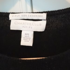 Charter Club Sweaters - Charter Club Petite Lily Cashmere Sweater